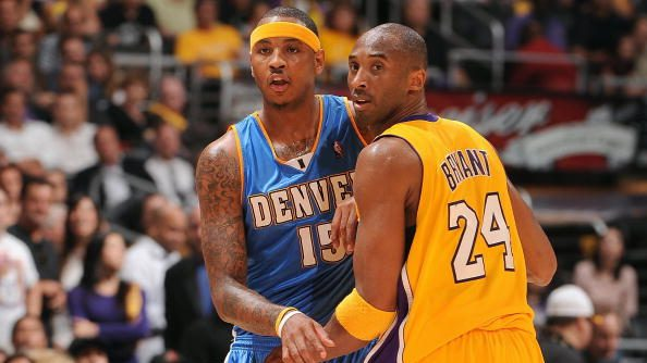 Carmelo Anthony in 2009 Lakers-Nuggets Western Conference finals
