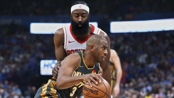 James Harden and Chris Paul