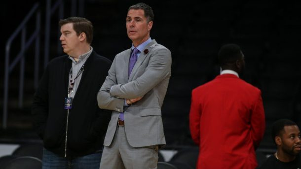 Lakers general manager Rob Pelinka