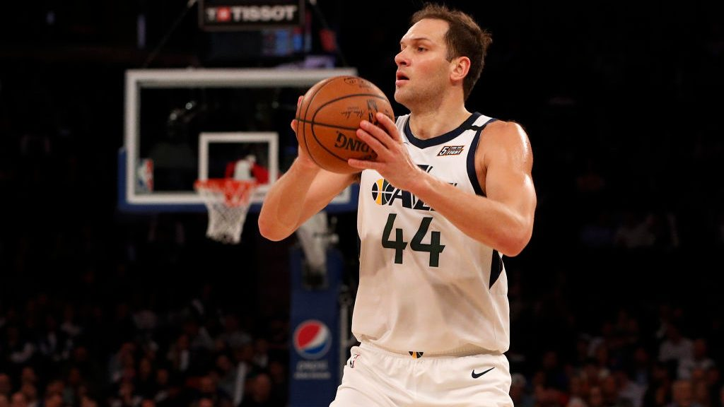 Jazz forward Bojan Bogdanovic