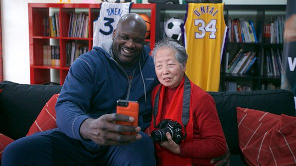 Shaquille O'Neal in China