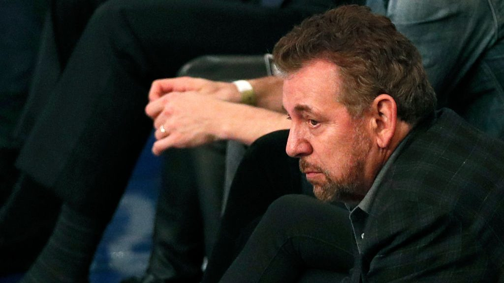 Knicks owner James Dolan