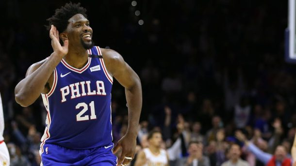 76ers center Joel Embiid