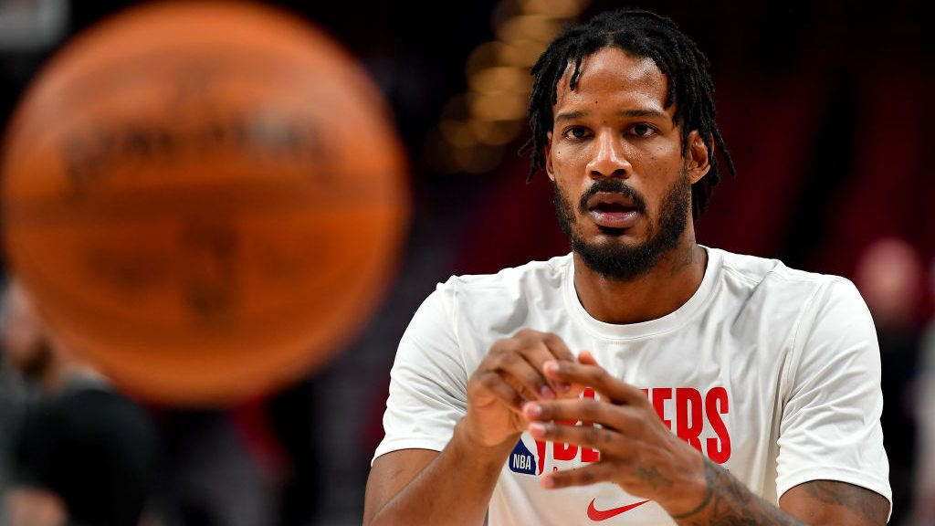 Trail Blazers forward Trevor Ariza