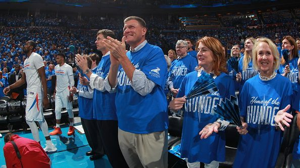 Thunder owner Clay Bennett