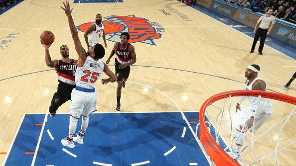 Damian Lillard vs. Knicks in Madison Square Garden