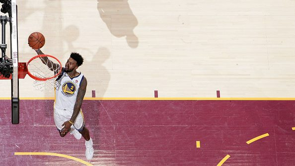 Former Warriors center Jordan Bell vs. Cavaliers