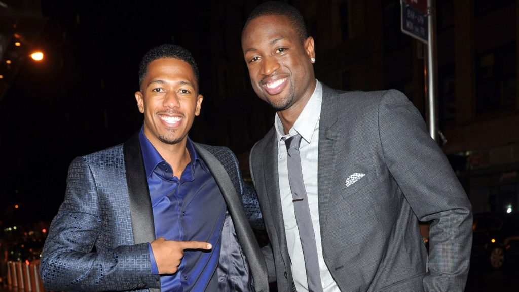 Former Heat star Dwyane Wade and Nick Cannon