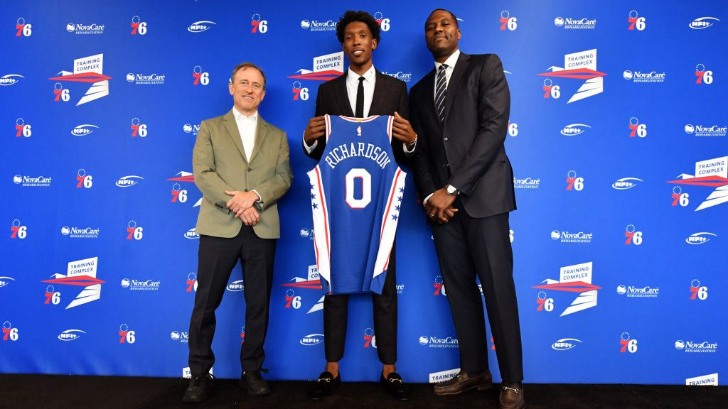 76ers guard Josh Richardson