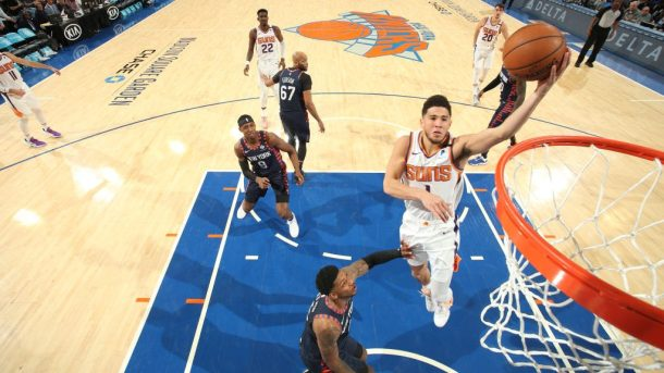 Suns guard Devin Booker vs. Knicks
