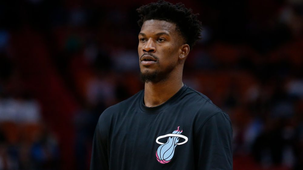Jimmy Butler hotel workout
