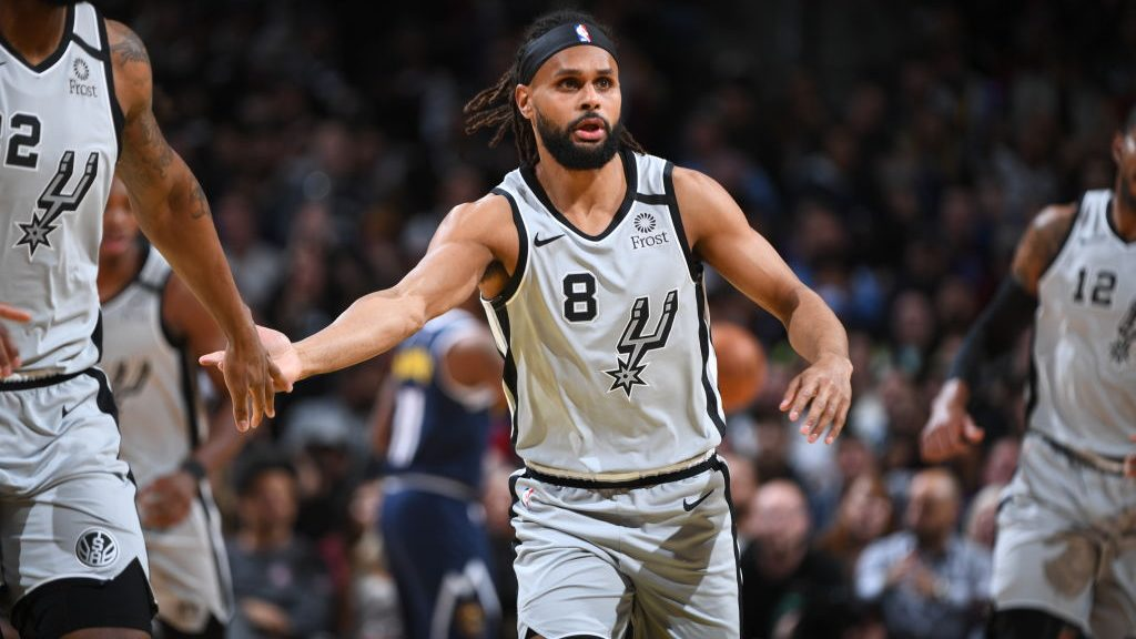 Spurs guard Patty Mills