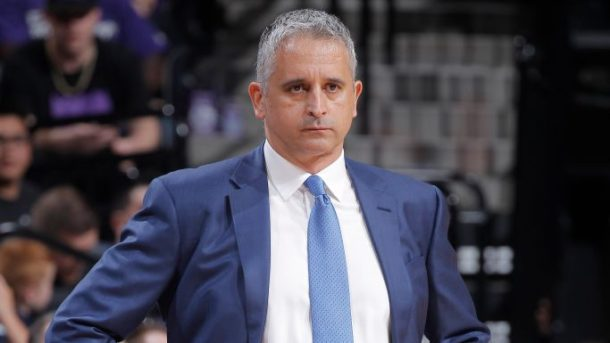 Kings assistant coach Igor Kokoskov