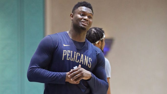 Pelicans rookie Zion Williamson