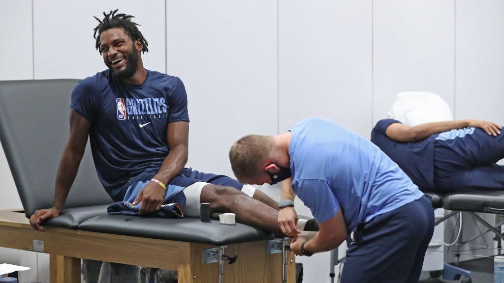 Grizzlies forward Justise Winslow