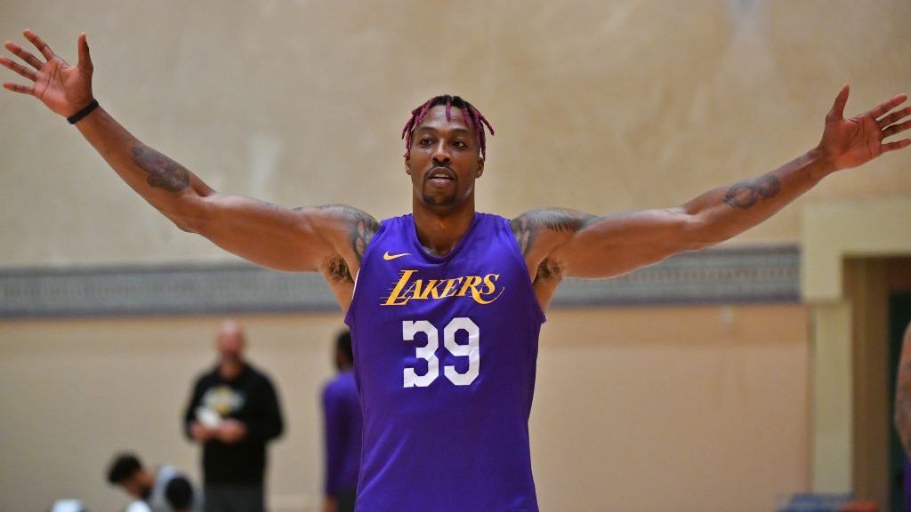 Lakers center Dwight Howard
