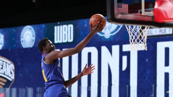 Bol Bol is the best show in Orlando right now, drops 15 in second scrimmage (VIDEO)