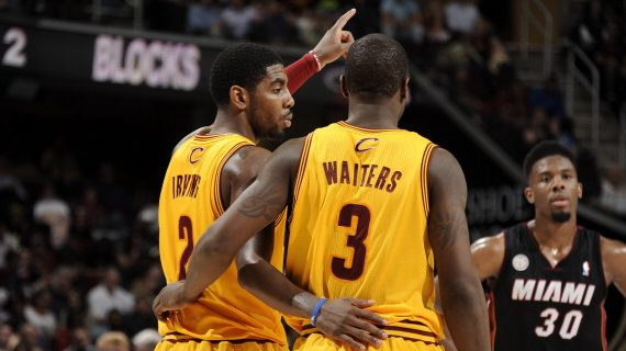 Kyrie Irving Dion Waiters