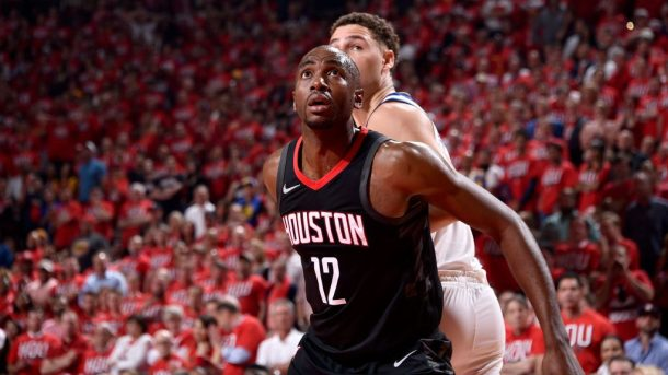 Rockets forward Luc Mbah a Moute