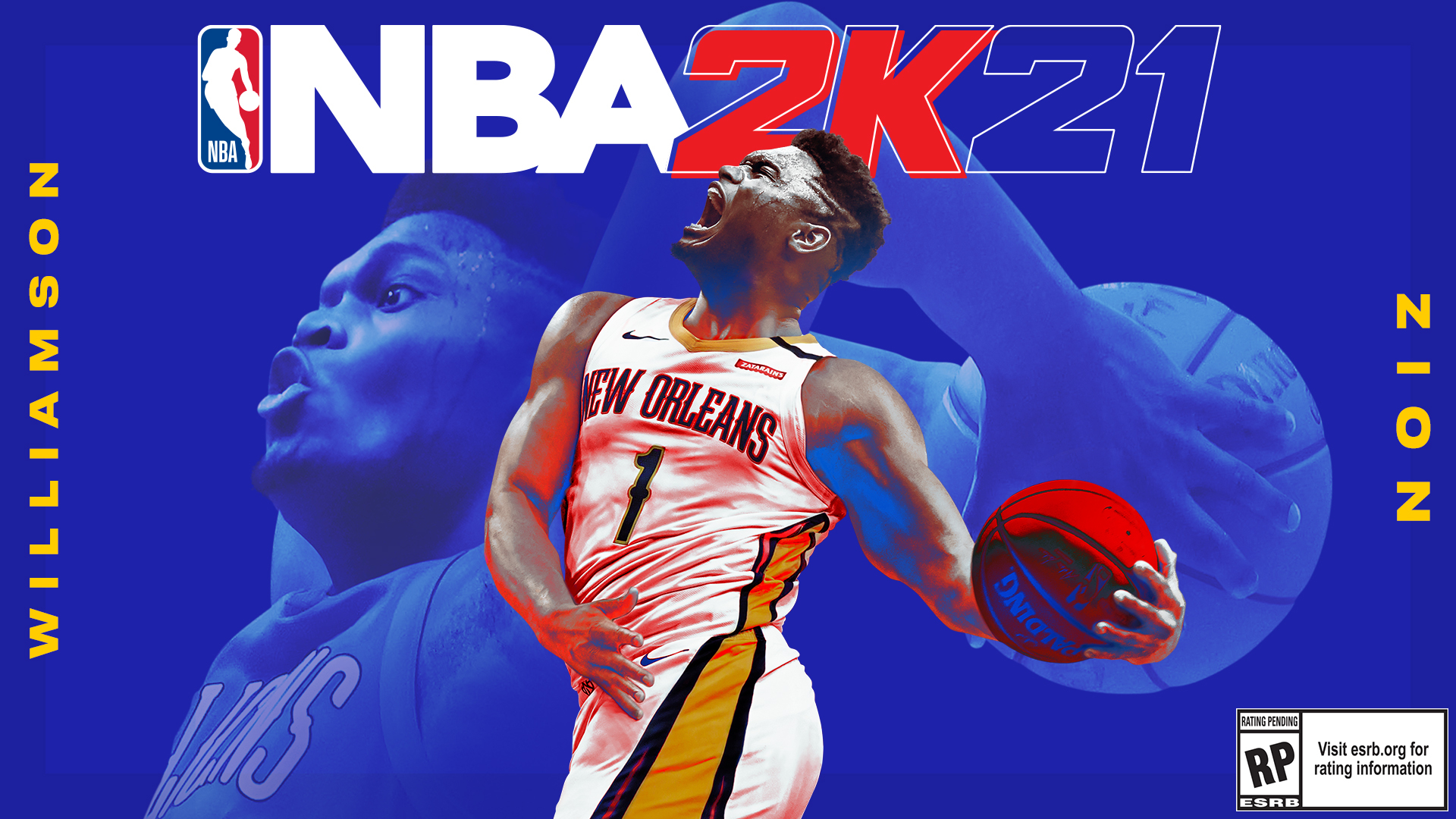 Zion Williamson On Cover Of Nba 2k21 For Next Gen
