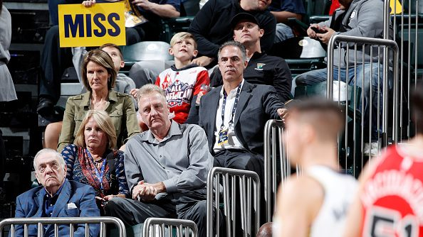 Pacers executive Larry Bird