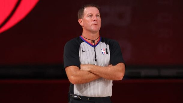 NBA referee Brent Barnaky