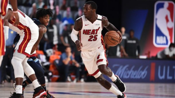 Heat guard Kendrick Nunn