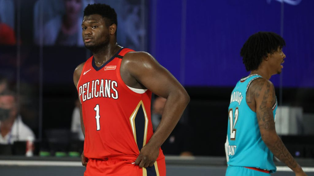 Pelicans big Zion Williamson