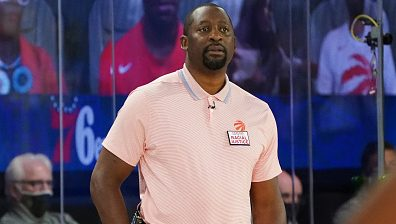 Raptors assistant coach Adrian Griffin