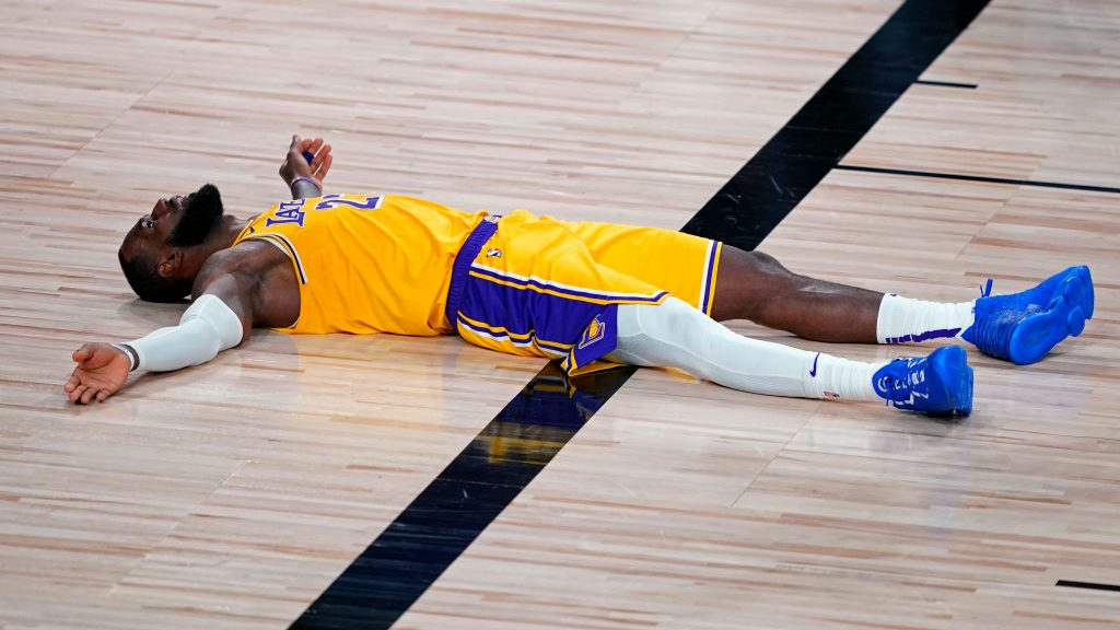 Lakers star LeBron James