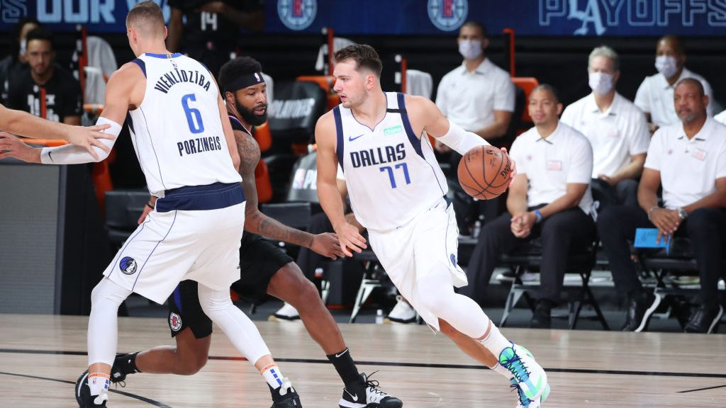 Luka Doncic in Mavericks-Clippers Game 2