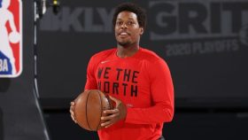 Raptors guard Kyle Lowry