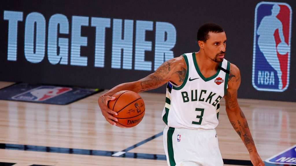 Bucks guard George Hill