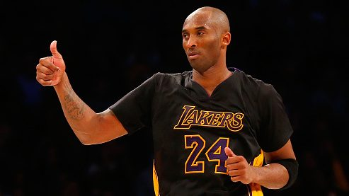 Report: Lakers to honor Kobe with 'Black Mamba jersey' later in ...