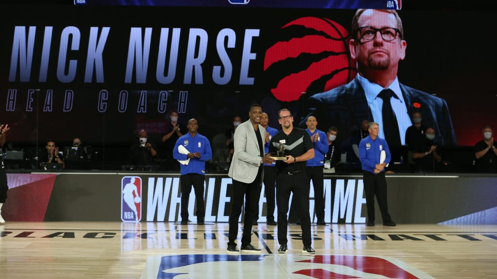 Raptors coach Nick Nurse