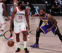 Speedy Small Ball Rockets Run Past Lakers To 112 97 Game 1 Win