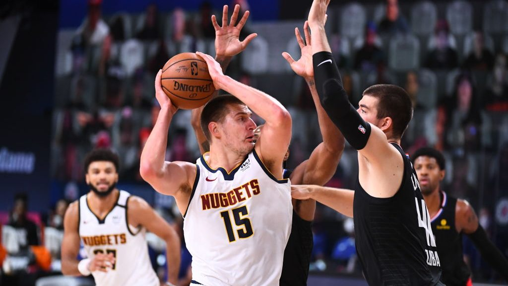 Nikola Jokic in Nuggets-Clippers Game 2