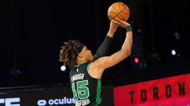 Celtics guard Romeo Langford