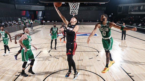 Heat guard Tyler Herro vs. Celtics
