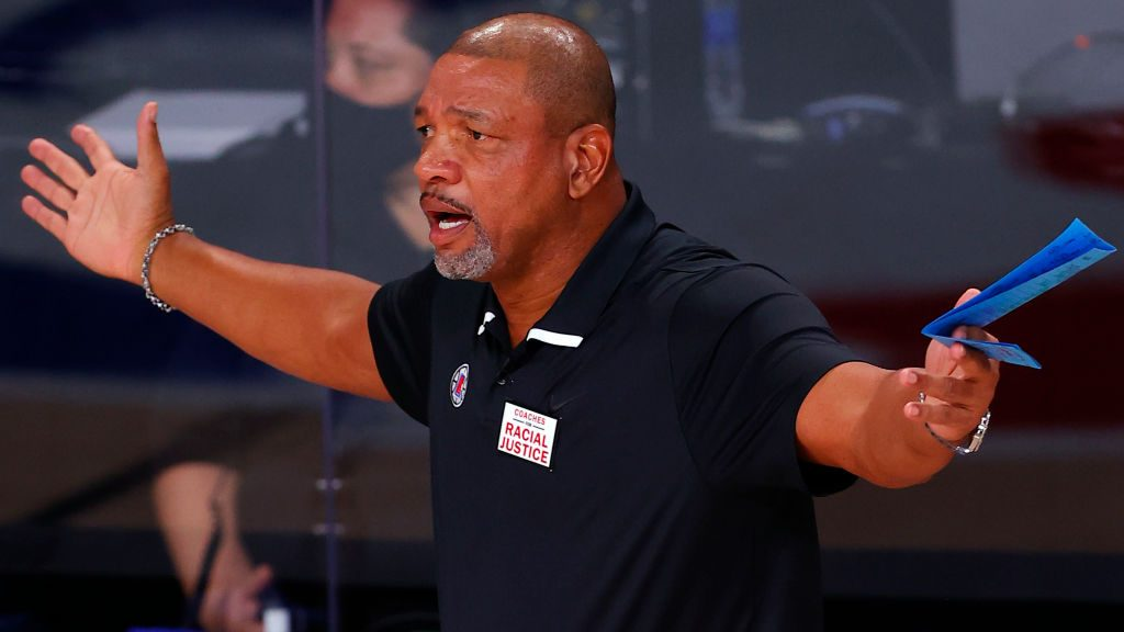 Former Clippers coach Doc Rivers