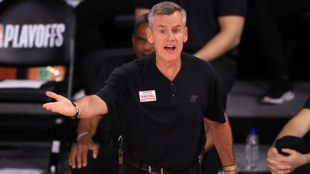 New Bulls coach and former Thunder coach Billy Donovan