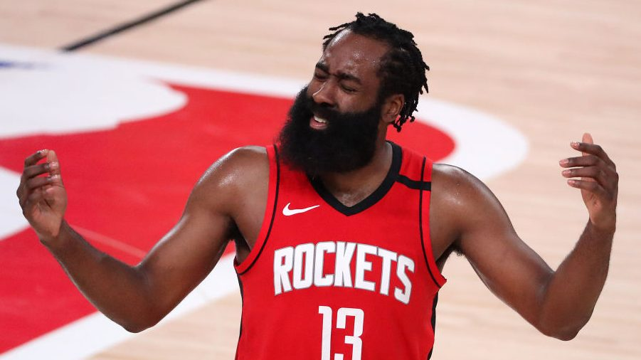 Would Rockets blow it up, trade James Harden? That's 'not for this offseason'