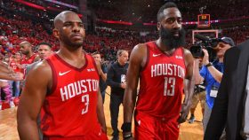Chris Paul and Rockets star James Harden