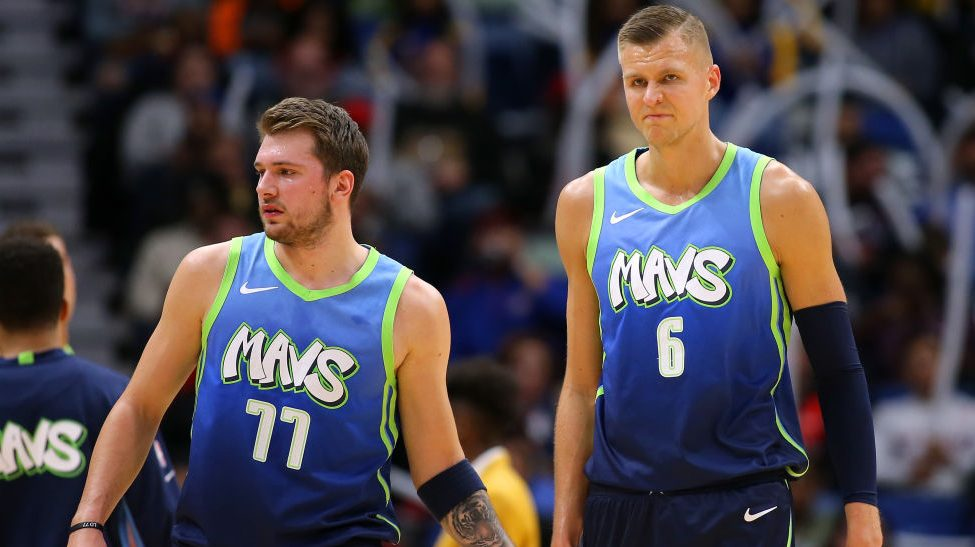 Report: Dallas willing to trade anyone but Doncic, Porzingis