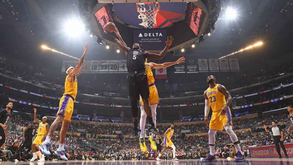 Clippers center Montrezl Harrell vs. Lakers