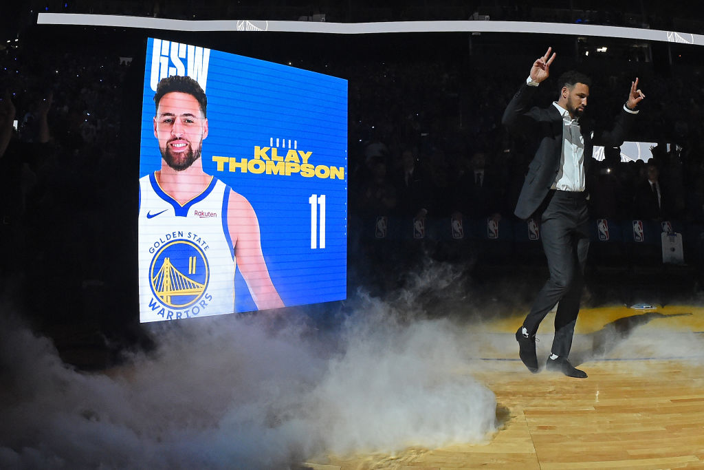 Warriors star Klay Thompson
