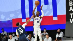 76ers guard Josh Richardson and Mavericks guard Josh Richardson