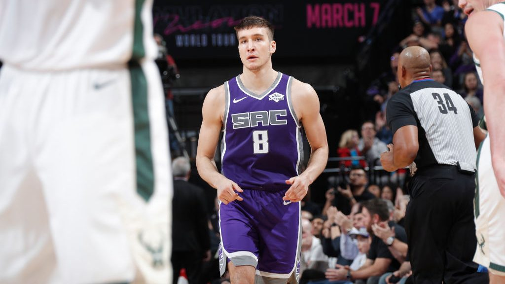 Former Kings guard Bogdan Bogdanovic vs. Bucks