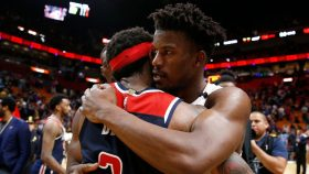 Heat wing Jimmy Butler and Wizards guard Bradley Beal