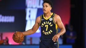 Pacers guard Malcolm Brogdon